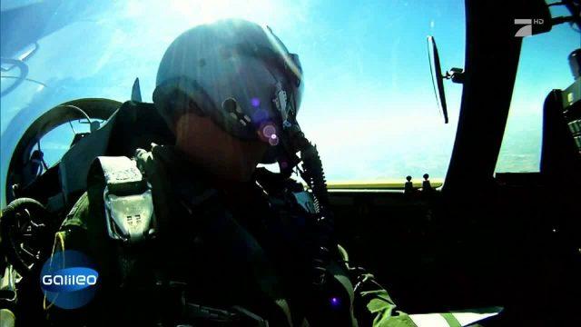 Wie wird man Eurofighter-Pilot?
