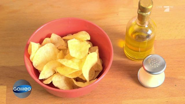 Fabrikchips vs. selbstgemachte Chips