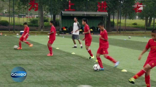 Fußballinternat in China