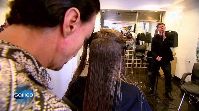 Superreiche beim Friseur