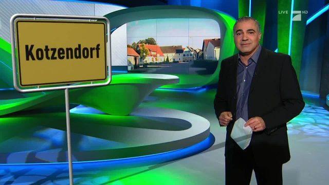 Montag: Ortsname mal anders: Kotzendorf