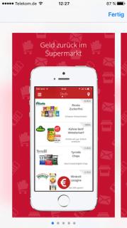 beim einkaufen sparen app