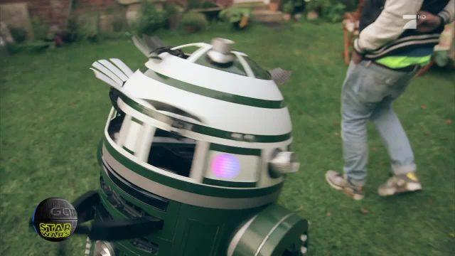 Wenn man R2-D2 als Mitbewohner hat