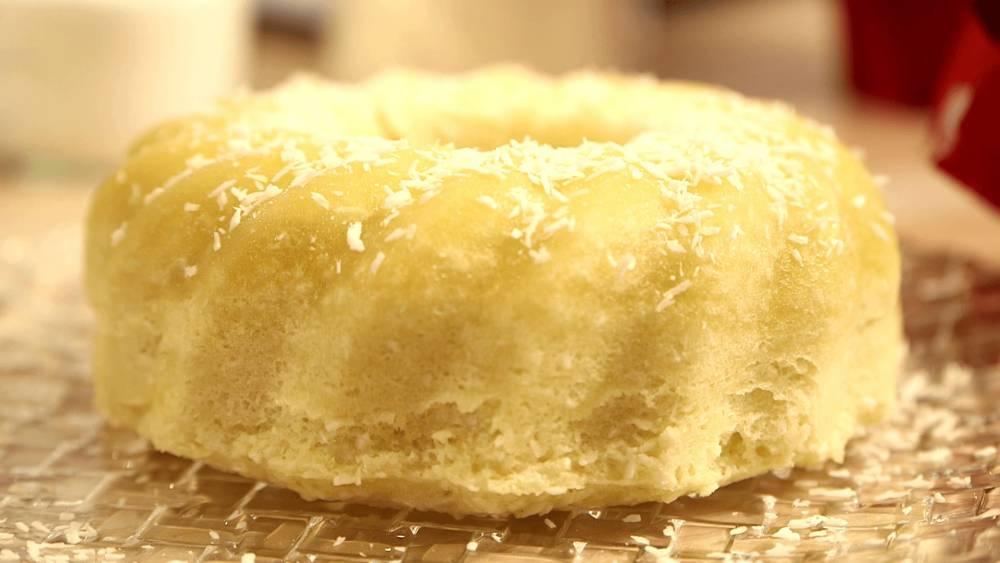 Kokos kuchen aus der mikrowelle