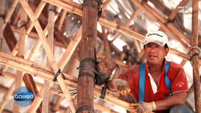 Die Bambusgerüstbauer von Hongkong