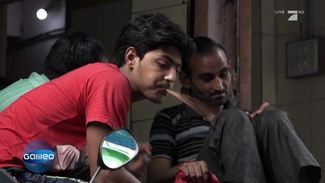 Die Spuckpolizei von Mumbai