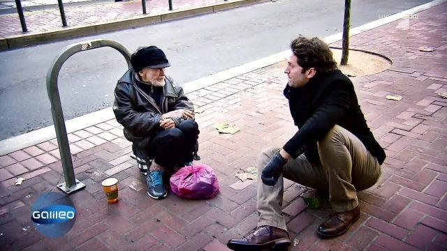 Held der Obdachlosen