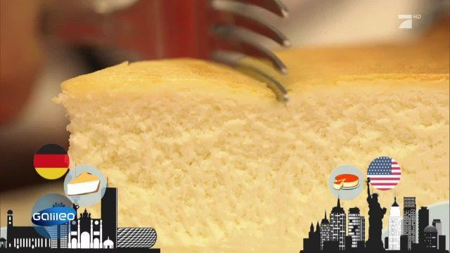 NY Cheescake vs. deutscher Käsekuchen