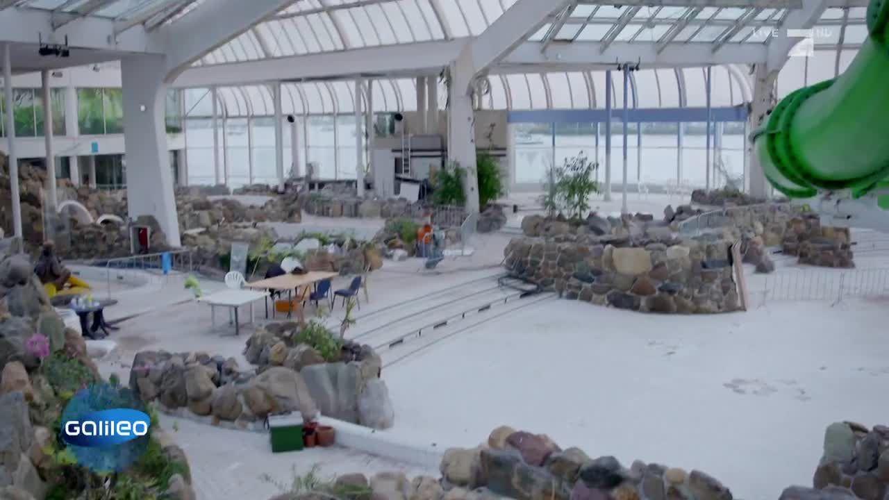 Das Pilz-Schwimmbad