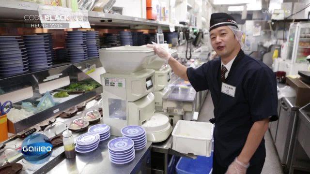 Das schnellste Sushi-Restaurant der Welt
