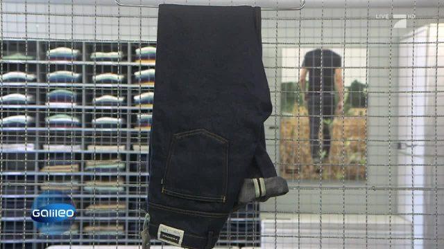 Eine essbare Jeans?