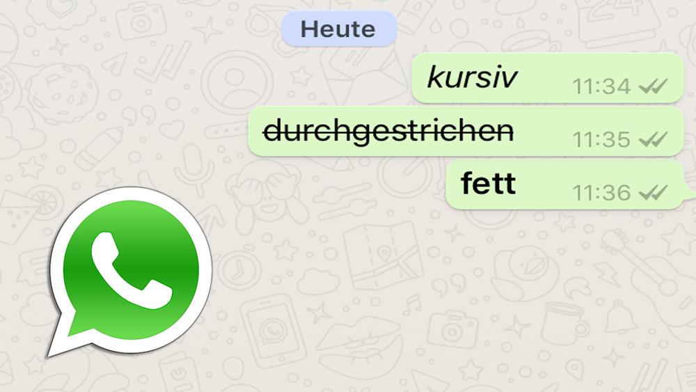 So Einfach Formatierst Du Text Bei Whatsapp