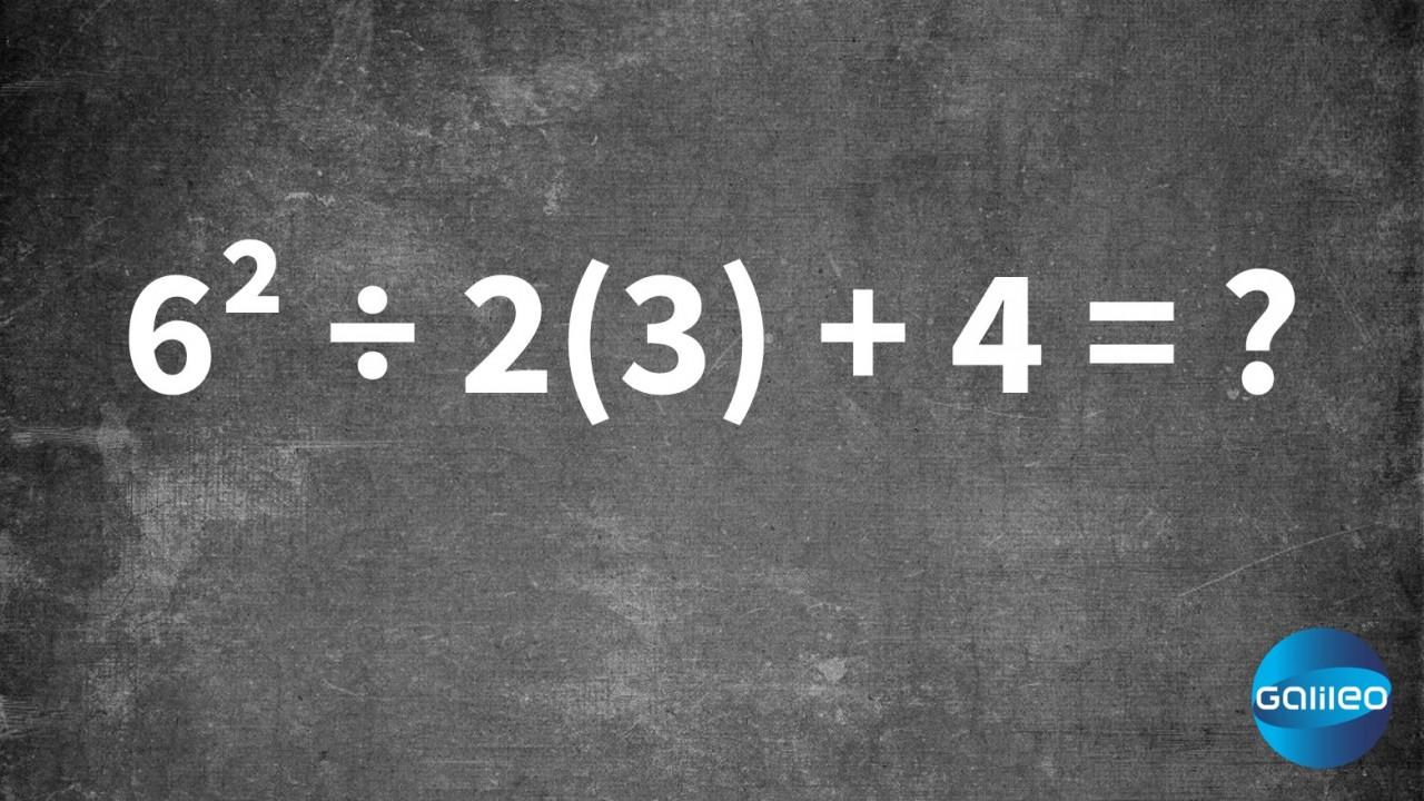 Mathematik Ist Immer Korrekt 1+4=5