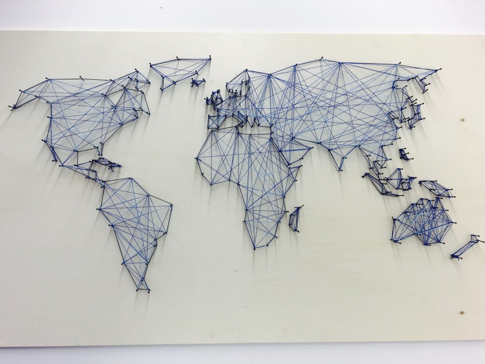 Diy die 3d weltkarte f r unter 20 euro for Weltkarte deko