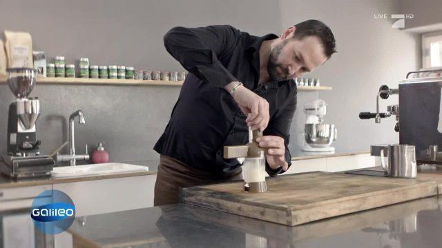 3D-Milchschaum Gadget für den Kaffee