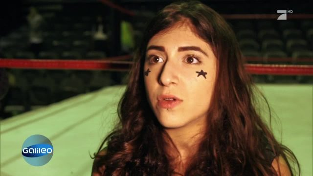 Dubais erste weibliche Wrestlerin