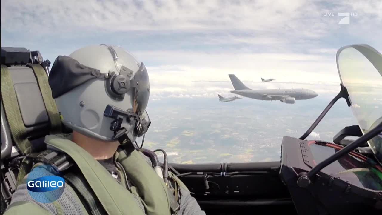 Nerven aus Stahl: Ausbildung zum Eurofighter