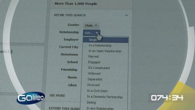 100 Sekunden: Facebook Graph Search