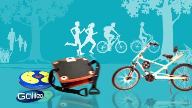 Fitness-Gadgets für Faule
