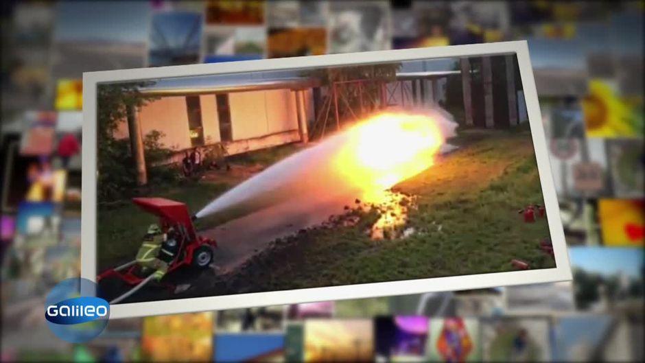 Clips der Woche: Feuerwehrschlauch