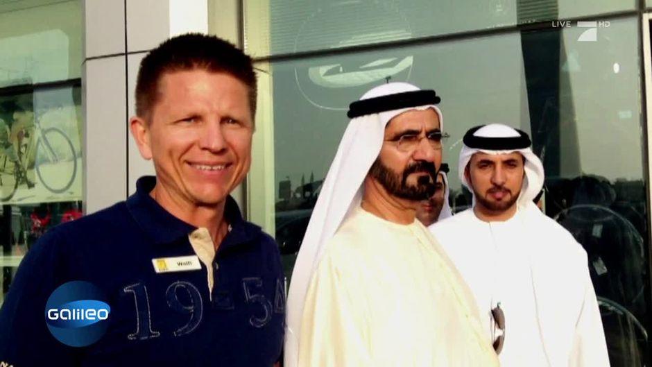 Der Rad-König von Dubai