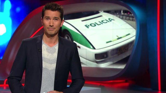 Dienstag: Polizei-Ferrari