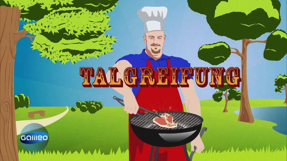Grillfleisch-Check: Talgreifung