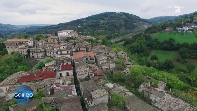 Italiens zauberhafte Geisterstadt