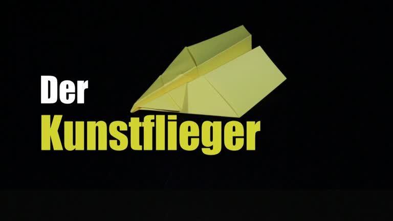 Papierflieger: der Kunstflieger