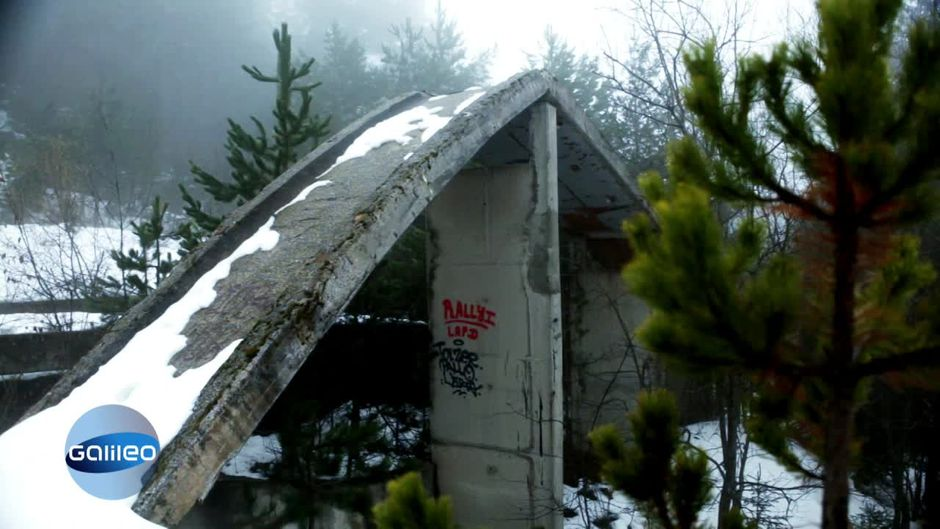 Sarajevo: Olympische Ruinen