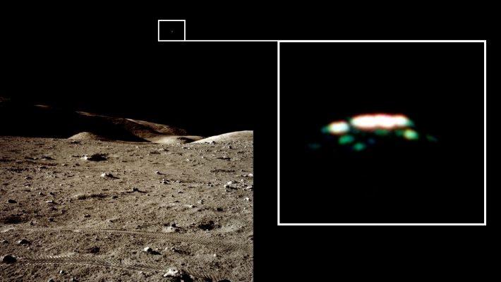 Ufos Auf Dem Mond