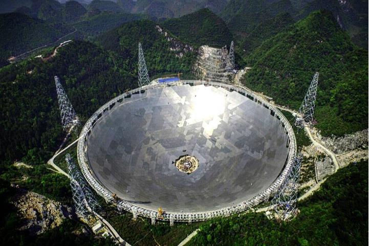 Das Größte Teleskop Der Welt