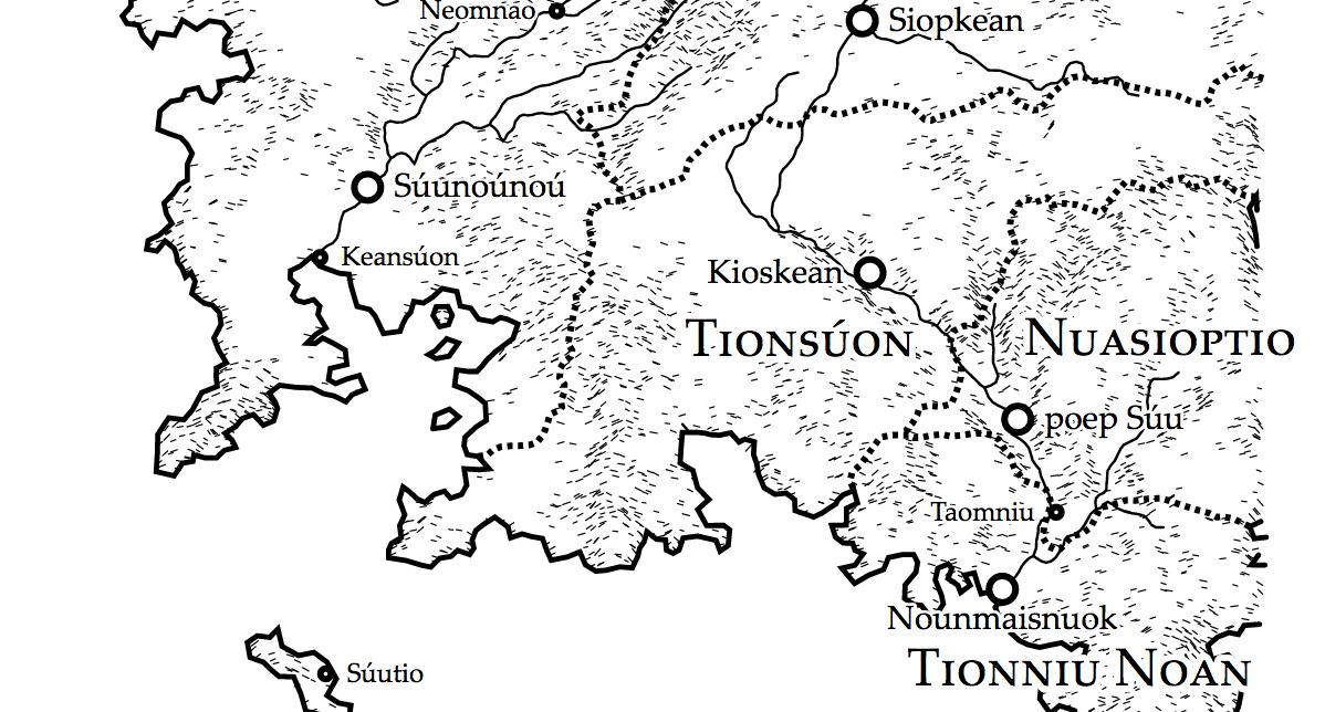 Fantasy Karte Zeichnen