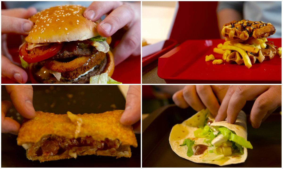 Burger-Pimps: Baut euch aus Fast-Food-Klassikern eine neue Mahlzeit