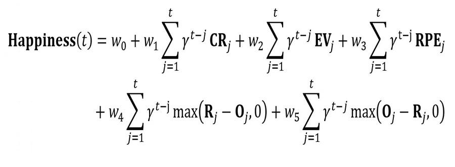 Mathematische Formel Fur Gluck Update Von  Naure Communications Rutledge Et Al