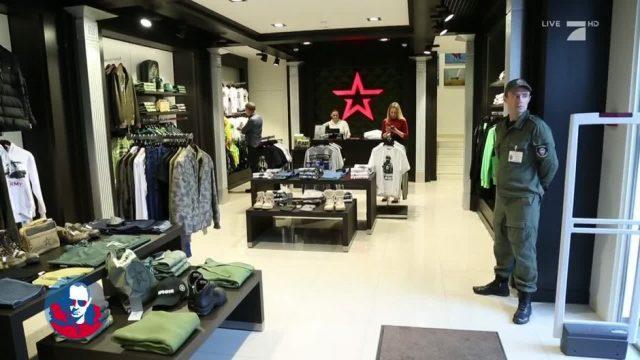 Army-Kleidung: Die russische Regierung macht Mode