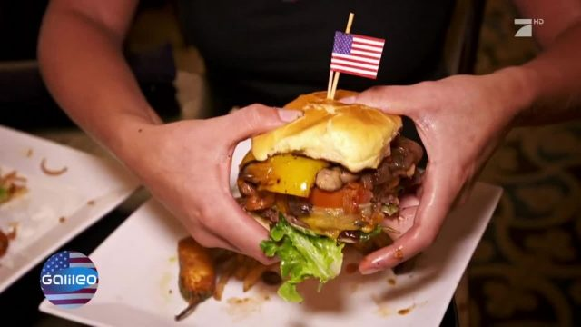 Clinton vs. Trump: Präsidenten-Burger-Battle