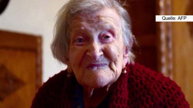 Die älteste Frau der Welt verrät, welches Lebensmittel sie täglich isst
