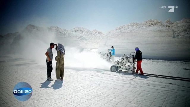 Schnee in der Wüste?: Kalksteinminen in Ägypten