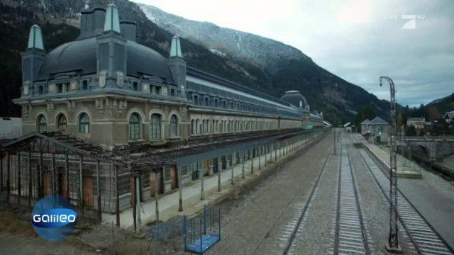 Der Geisterbahnhof von Canfranc