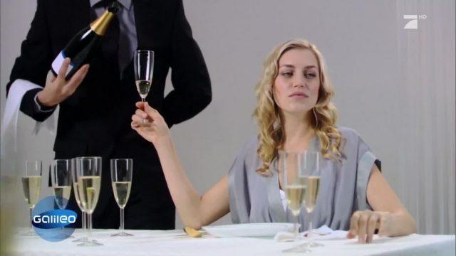 Schlaumeier: Woher kommt die Wölbung an der Sektflasche?