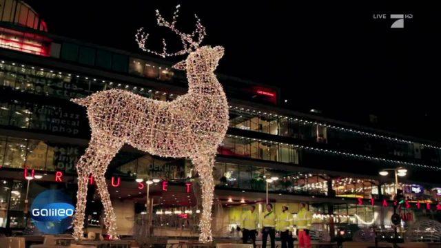 Weihnachtsbeleuchtung: Woher kommt die Riesen-Deko?