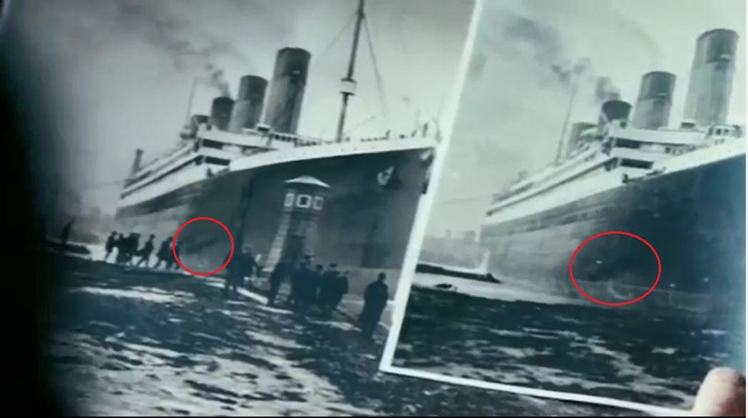 Titanic Im Vergleich Zu Heutigen Schiffen