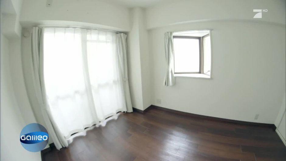 Leben als Minimalist: Das ist das Schlafzimmer einer fünfköpfigen ...