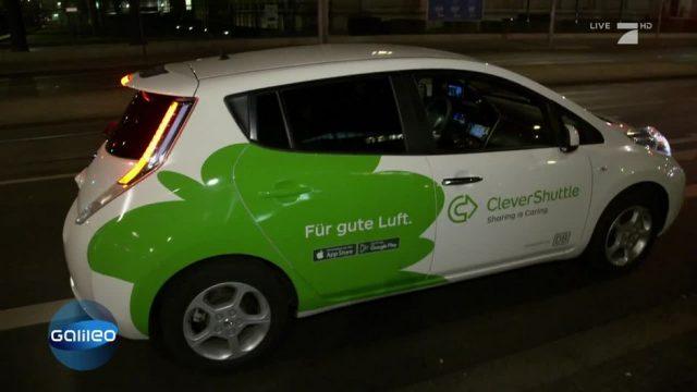 Clever Shuttle: Die Alternative zum Taxi