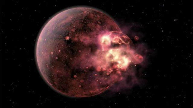 Diese erstaunliche Entdeckung im Krater der ersten Atombombe erklärt die Entstehung des Mondes