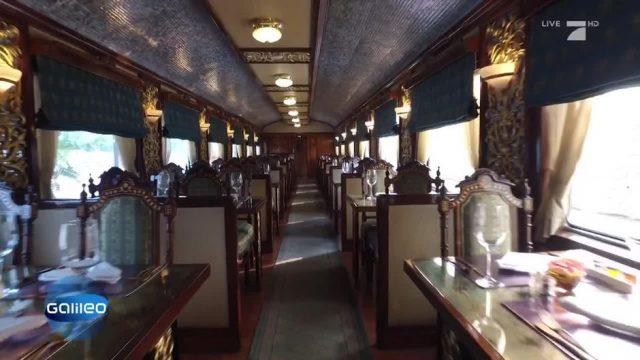 Maharaja-Express: Die luxuriöseste Zugreise der Welt