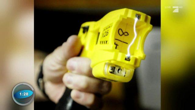 Polizei: Taser statt Schusswaffe