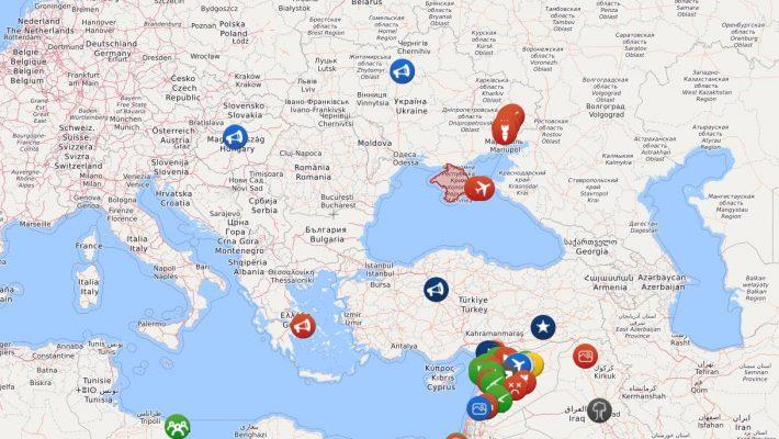 Syrien Karte Aktuell 2018.Diese Interaktive Karte Zeigt Dir Live Alle Konflikte Auf Der Welt
