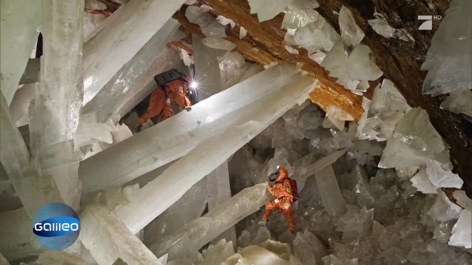 Das Kristalllabyrinth von Naica